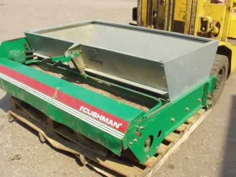 CUSHMAN TOP DRESSER EX DEMO