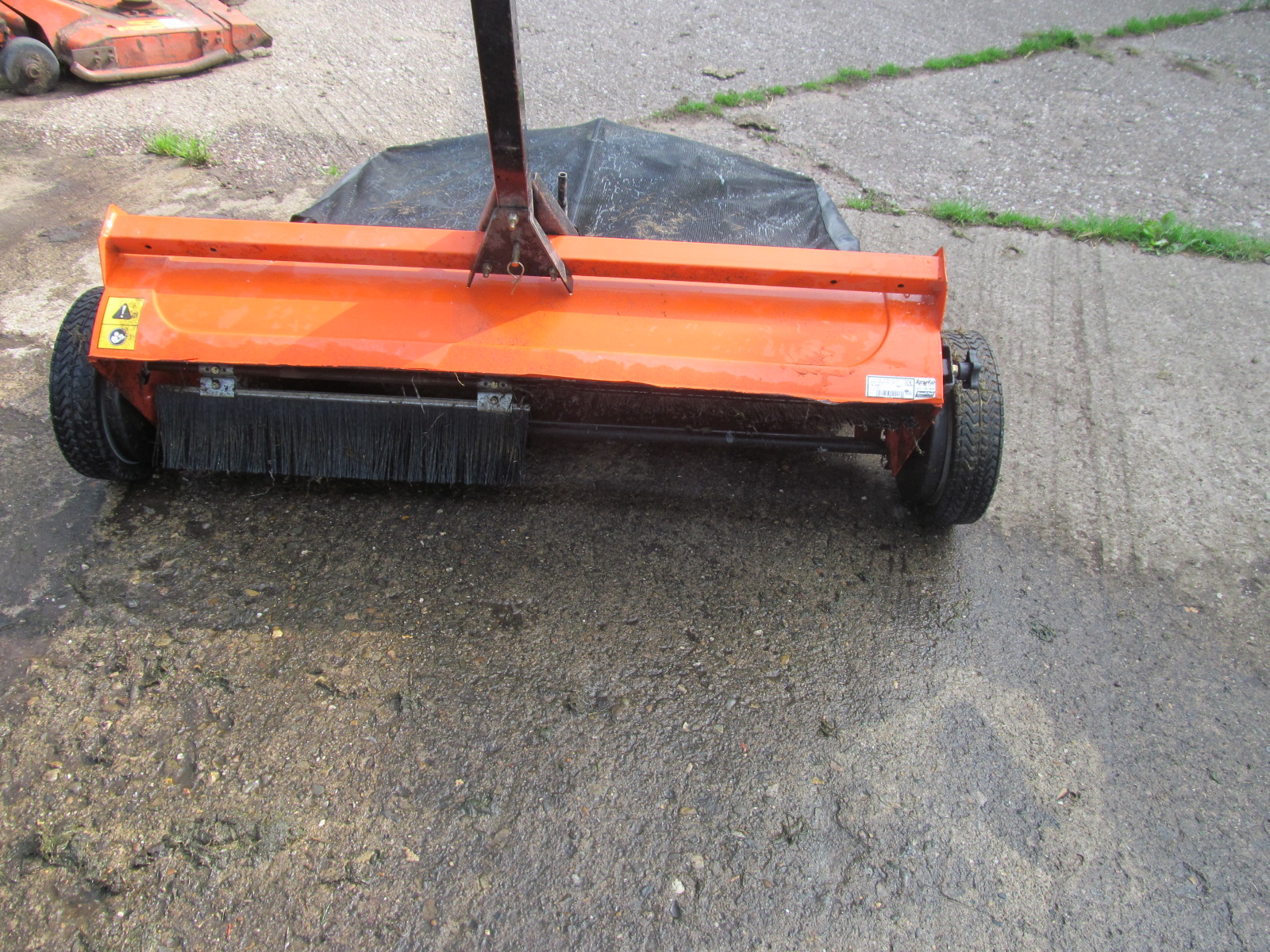 John Deere 44 Sweeper : Agfab sweeper collector quot etc grass machinery